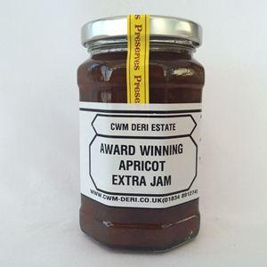Apricot Jam 340g. Buy fruit wine, preserves from CWM Deri Vineyard ...