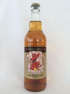 Picture of Gwynt y Ddraig Gold Medal Cider 50cl