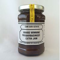Picture of Rhubarb & Ginger Jam 340g