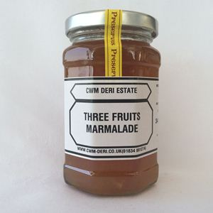 Picture of Three Fruits Marmalade 340g