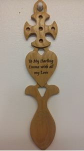 Picture of Celtic Cross & Heart Lovespoon G63 Boxed